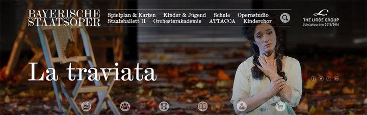 [DE2016]椿姫(La traviata)2016.07.15@Bayerische Staatsoper