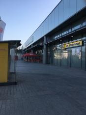 バスのりばがある方の駅出入口