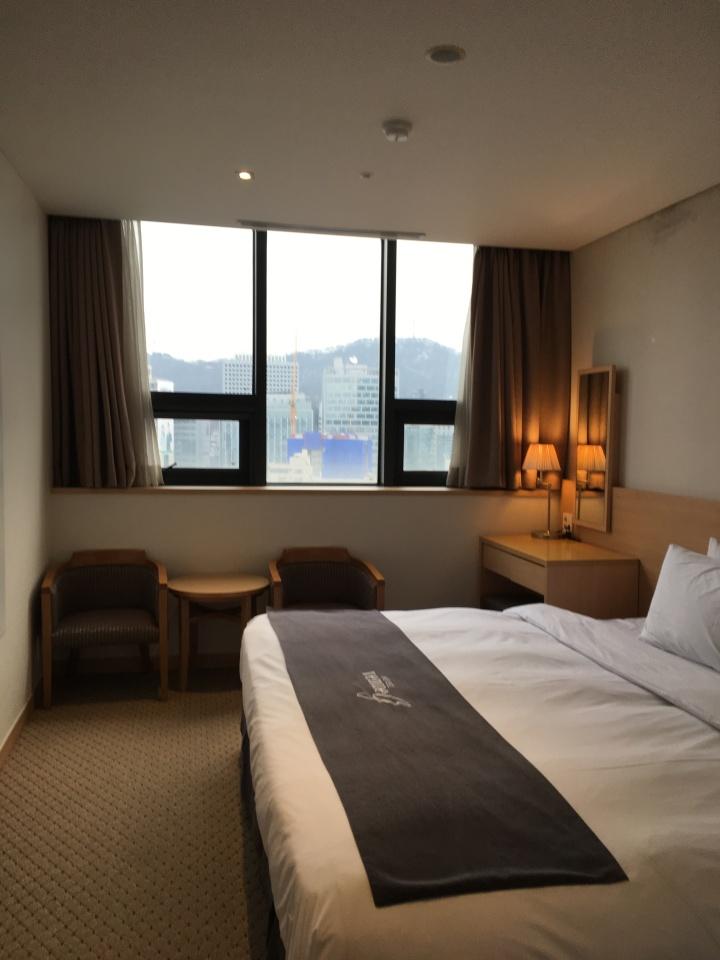 [新春ソウル2018]観光に便利な「ホテル ベニュー G」@清渓川・乙支路3街