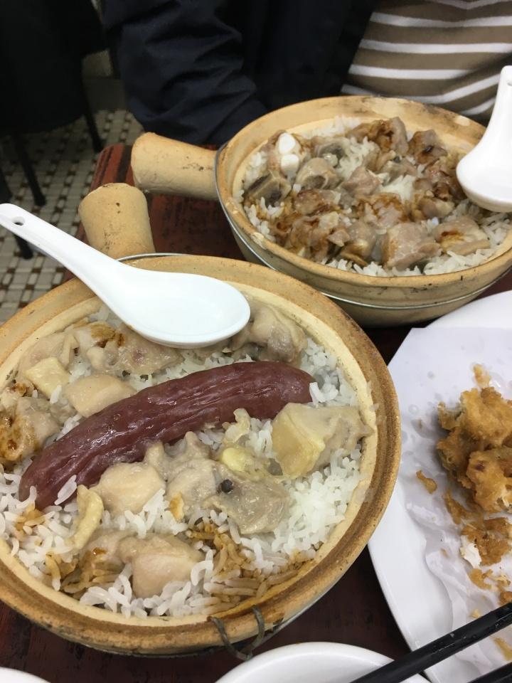 [HK2018]ザ・ローカルフードを味わう。四季煲仔飯の保仔飯とオイスターオムレツ