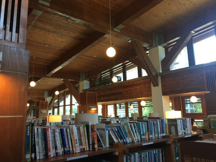 [中欧2018]トランジットで台湾・新北投の図書館へ